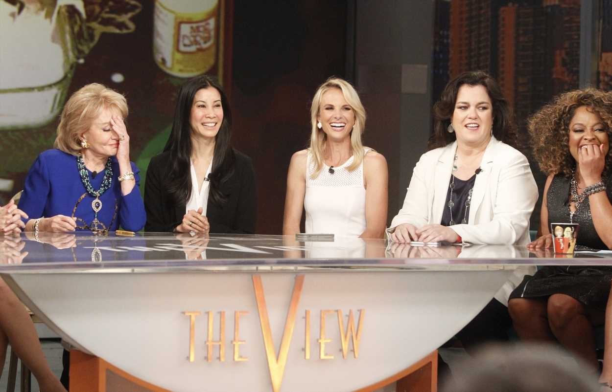 Rosie O'Donnell wishes Meghan McCain 'wouldn't be so mean to Joy Behar' on 'The View'