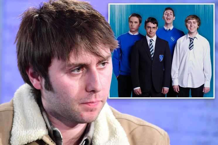 Inbetweeners star James Buckley doesn't want to leave the house as his celeb status has left him 'anxious'