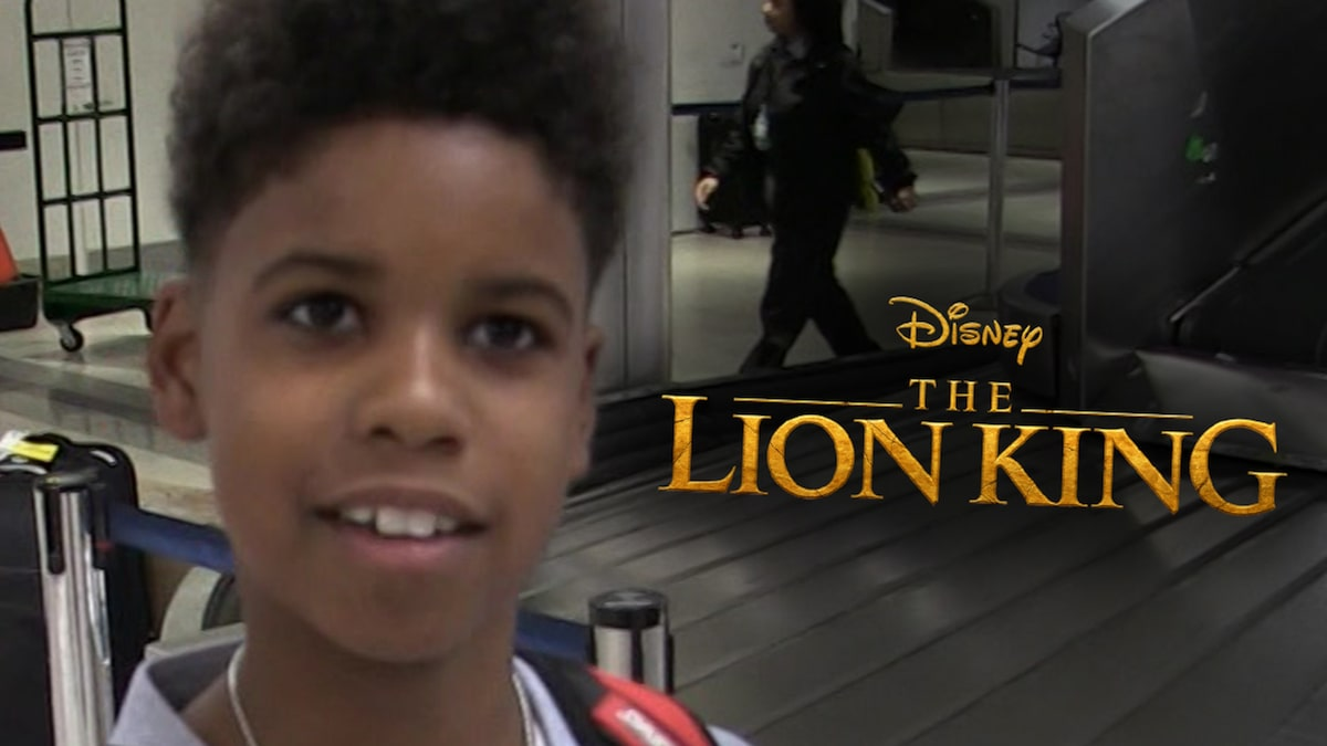 JD McCrary Made Bank for 'Lion King' Reboot