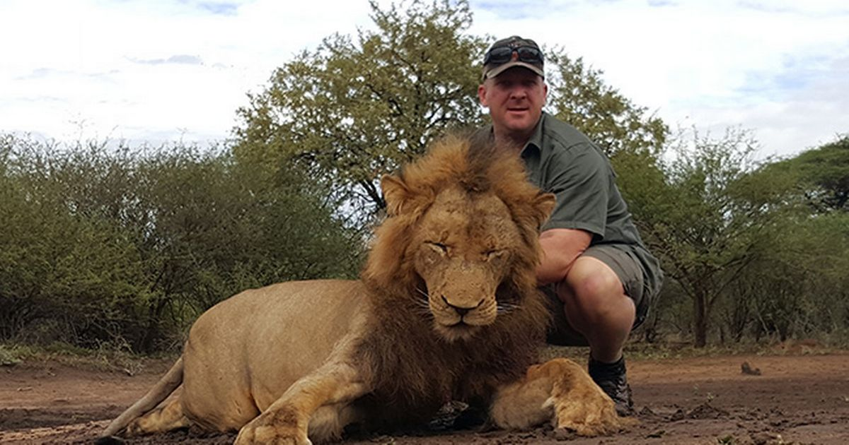 """'Only' Brit trophy hunter to kill """"Big Five"""" claims he is a 'conservationist'"""