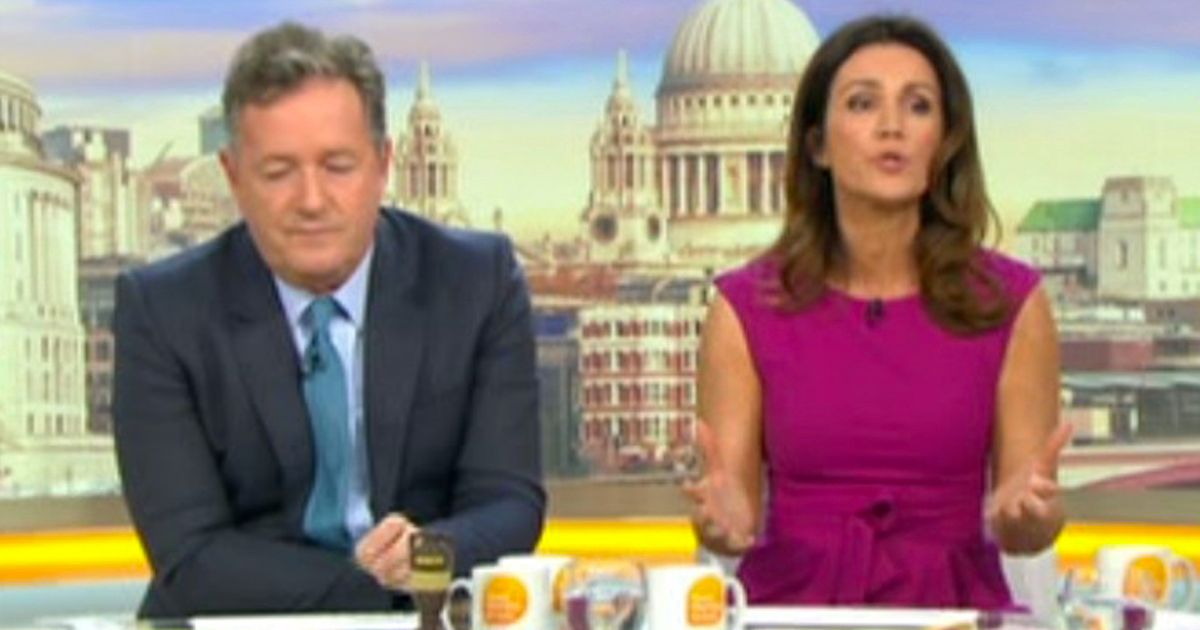 Susanna Reid fumes after being forced to apologise for guest quoting Trump