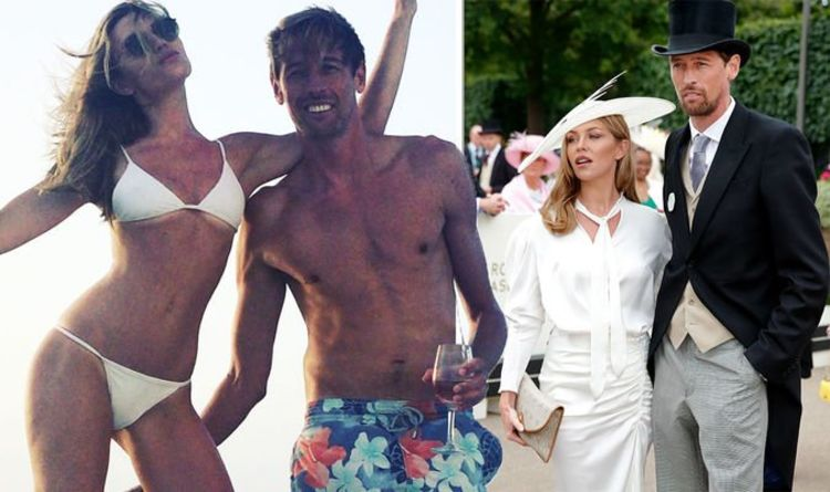 Abbey Clancy: 'Couldn't be more proud' Peter Crouch's wife praises him as he retires
