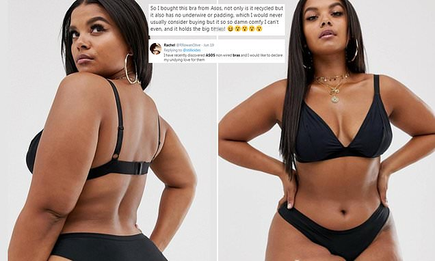 Fans go wild for ASOS's triangle bra that – and it costs just £8