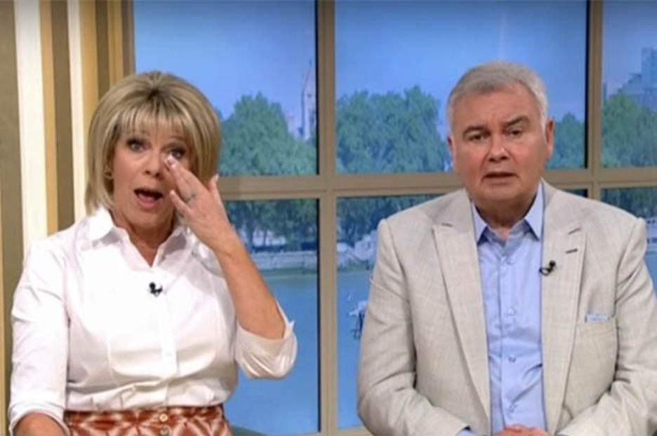 Eamonn Holmes makes wife Ruth Langsford blush on This Morning with X-rated confession
