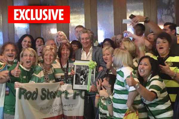 Rod Stewart's female fans are bigger boozers than football supporters, says Premier League chairman – The Sun