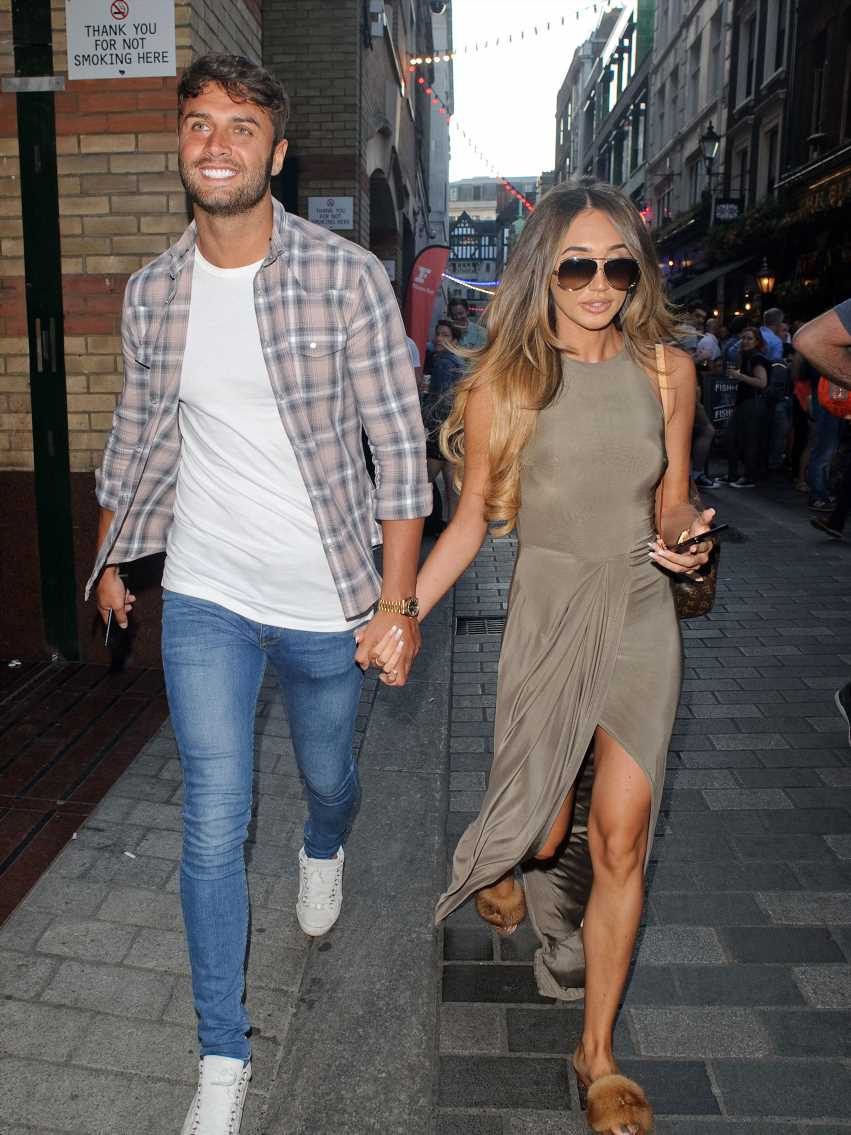 Megan McKenna 'dating ex convict' as she moves on from Mike Thalassitis