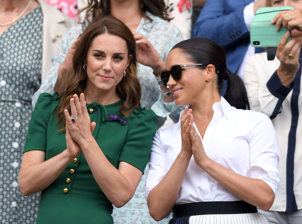 Meghan Markle and Kate Middleton Put Feud Rumors to Rest: Their Wimbledon Body Language Explained