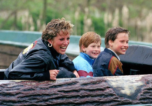 The 'Naughty' Thing Princess Diana Used to Send to School With Prince William