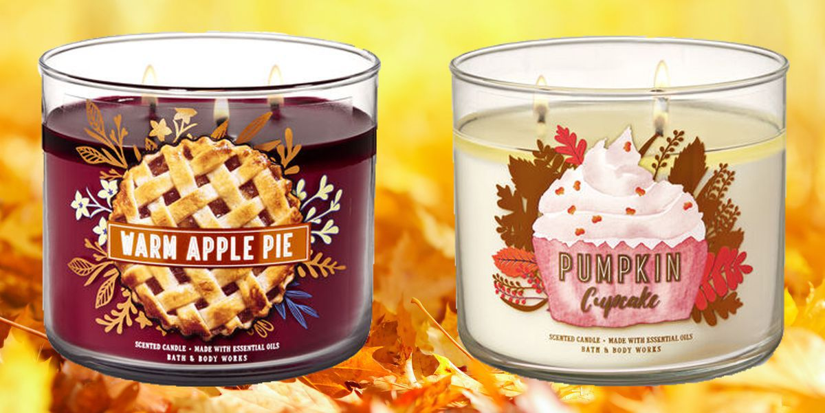 Stop Everything: Bath & Body Works Just Dropped Their Fall Candle Collection