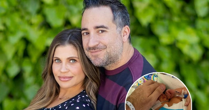 Danielle Fishel Welcomes Son Adler, Details Hospital 'Nightmare' After He's Born 4 Weeks Early