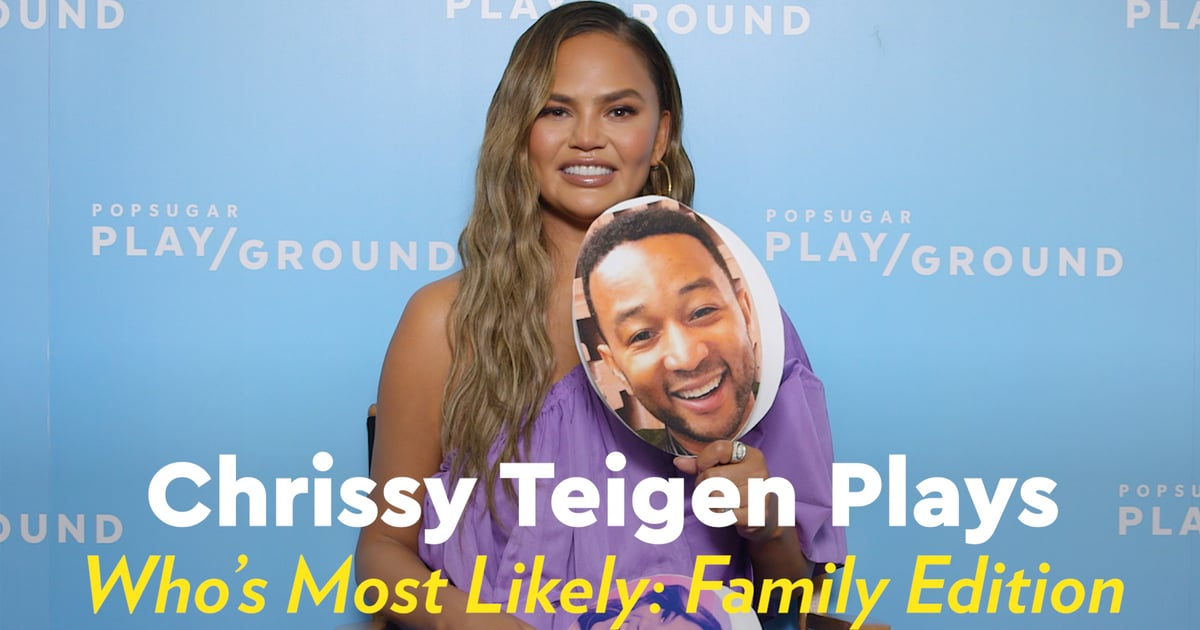 Chrissy Teigen Dishes on Her Family, From Who Snores the Loudest to Who's Most Likely to Be a Meme