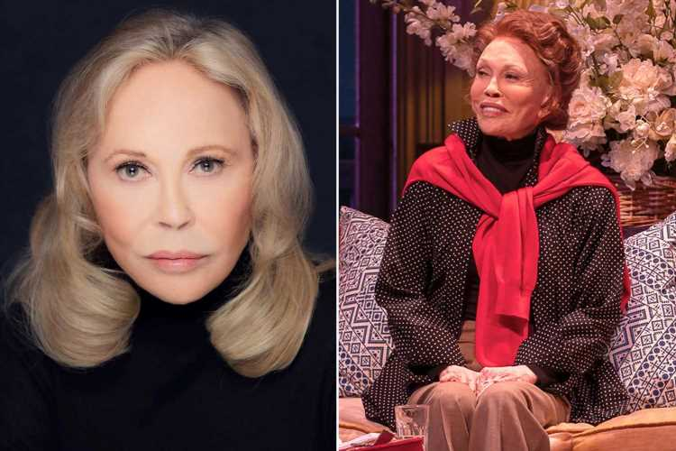 Faye Dunaway fired from Broadway-bound 'Tea at Five'