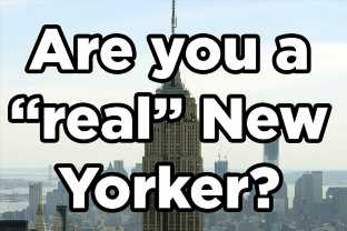 If You Check Off 20 Out 36 Of These Things Then You're A Real New Yorker