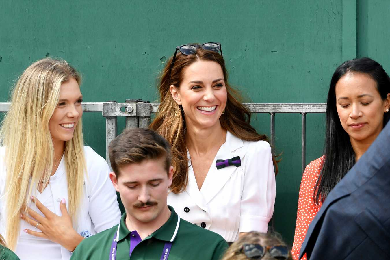 Kate Middleton Surprises Wimbledon Fans — and Not in the Royal Box!