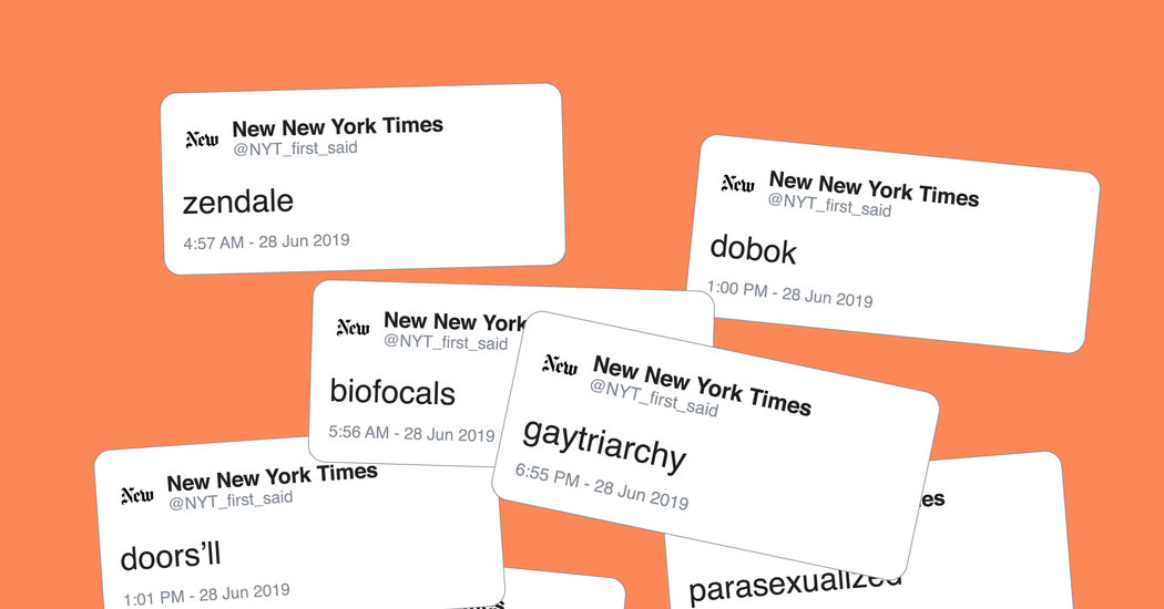 When The Times First Says It, This Twitter Bot Tracks It