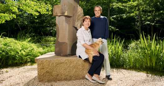 Home Is a Sculpture Garden, but the Art Doesn't Stop at the Door
