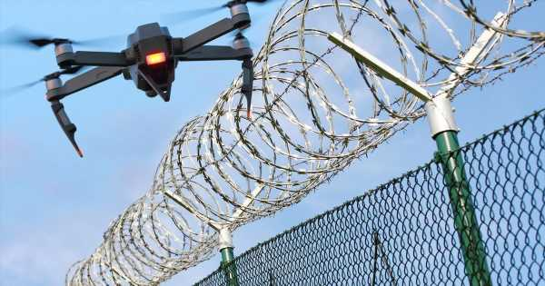 Jail chiefs use remote controlled drones to track down escaped prisoners