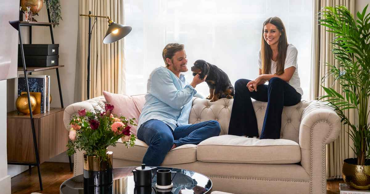 Inside Made in Chelsea star Louise Thompson and fiancé Ryan Libbey's London home after stunning makeover– EXCLUSIVE