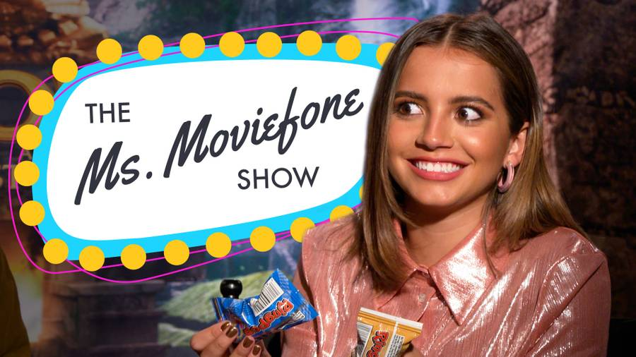 On the Latest Ms. Moviefone Show, the Stars of 'Dora and the Lost City of Gold' Go Exploring