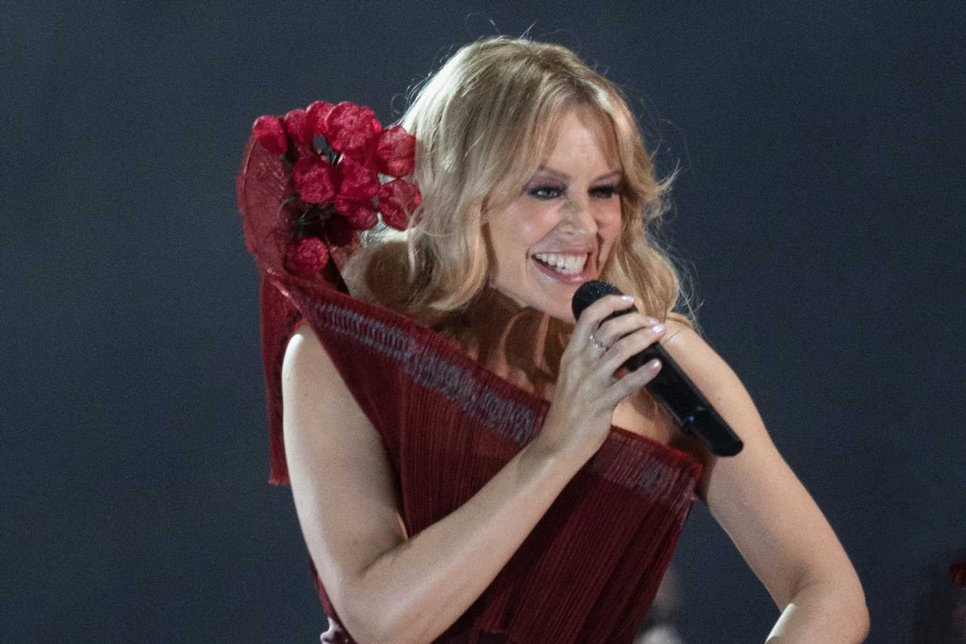 Kylie Minogue, 51, storms Brighton Pride stage with thunderous performance