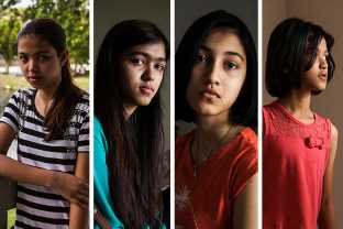 Four Sisters Spent Years Trapped In An Island Detention Camp. Their New Life Has Its Own Struggles.