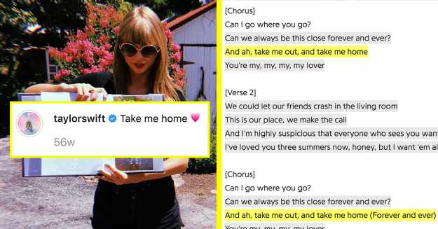 """Taylor Swift Just Dropped Her New Song, """"Lover"""" — Here Are All The Clues We Missed"""
