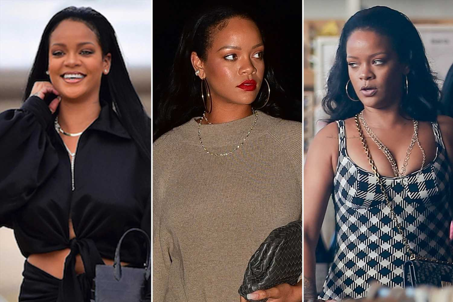 Rihanna shines bright like a diamond in this $3K necklace