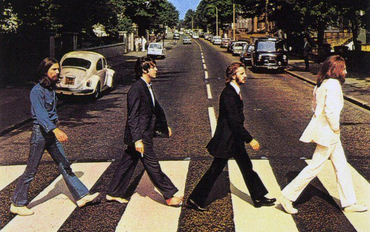 The Beatles Fans Jam-Pack Abbey Road on 50th Anniversary of Iconic Album Cover