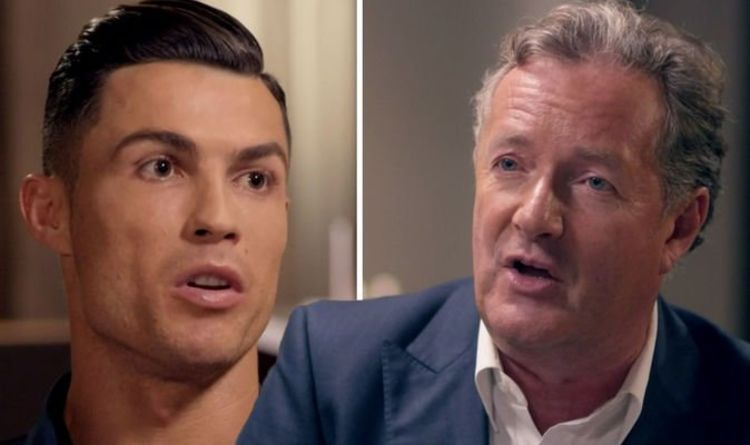 Piers Morgan reacts as Cristiano Ronaldo speaks out on his emotional interview