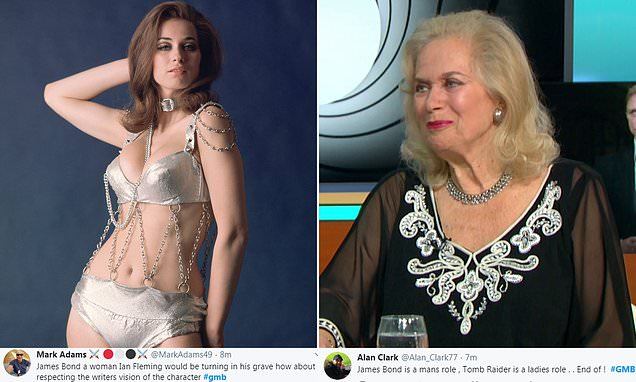 GMB viewers rage at idea 007 could be turned into a female character