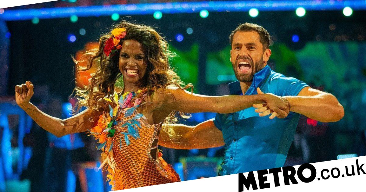 Strictly Kelvin Fletcher wants everyone to think he's in love with Oti Mabuse