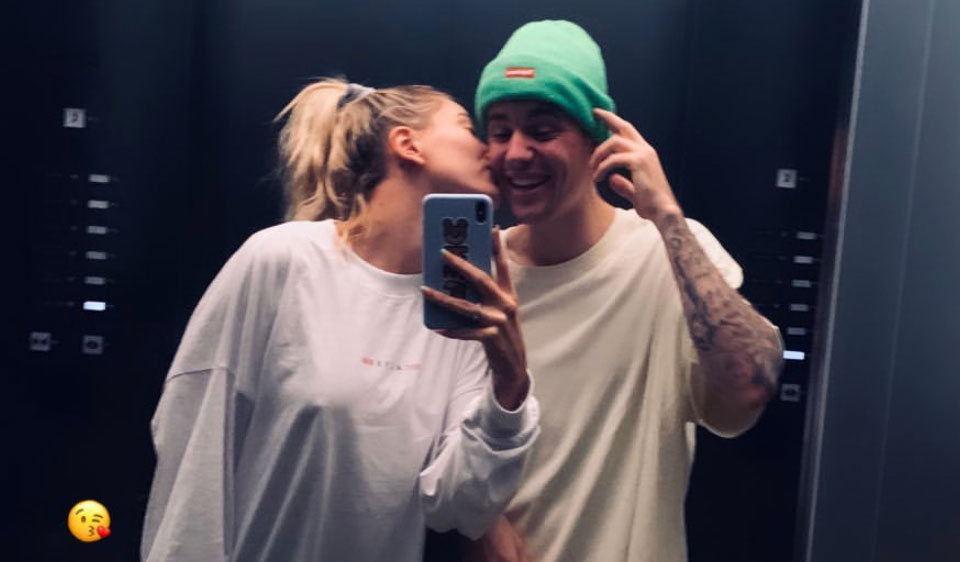 See Hailey Bieber's Anniversary Post for Justin!