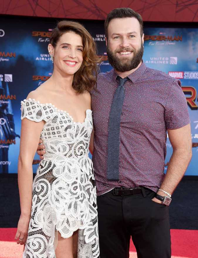 Cobie Smulders Gushes Over Husband Taran Killam: 'I'm a Very Lucky Woman'