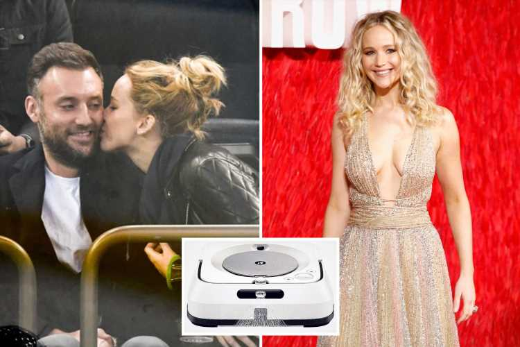 Jennifer Lawrence reveals Amazon wedding gift wish-list that includes a £400 robot mop – The Sun