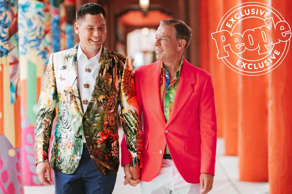 The Neon Colors! The Tears! Thousands of Marigolds! A Look Inside Elvis Duran's Sante Fe Wedding