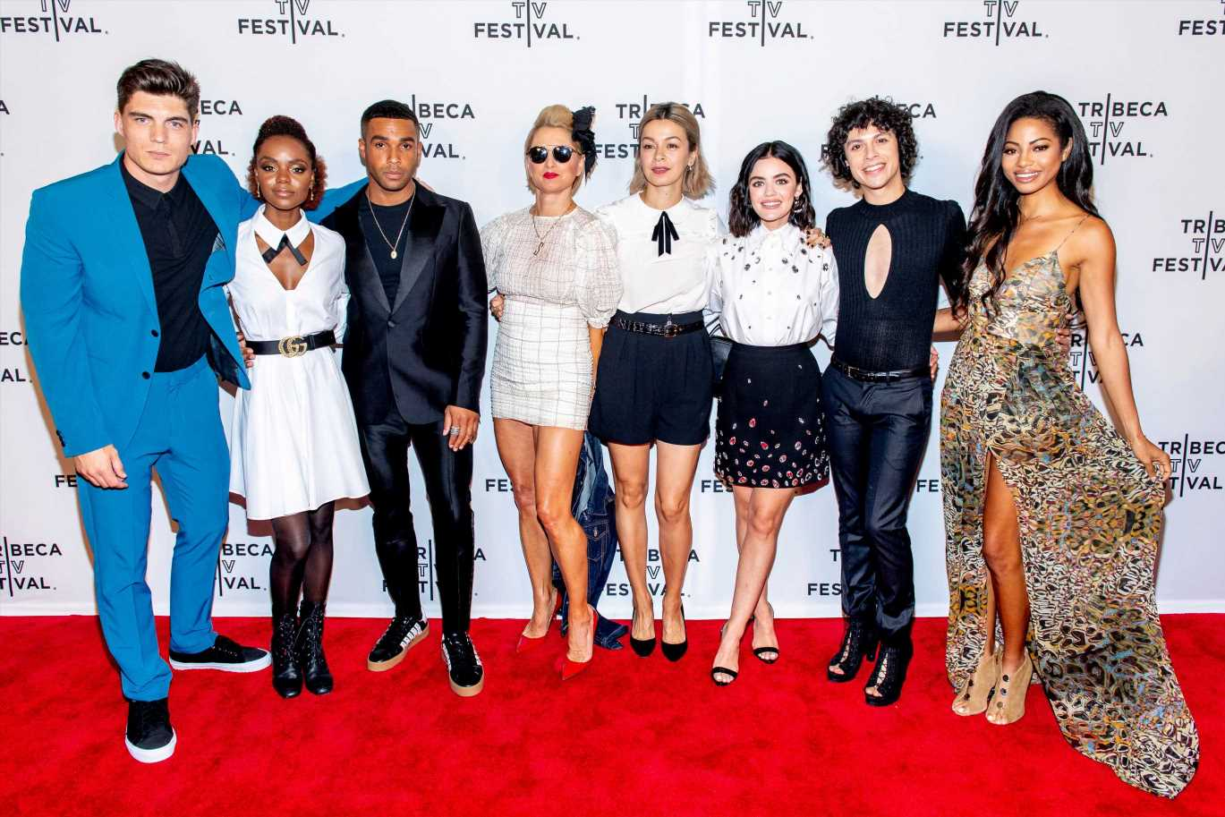 The cast of 'Katy Keene' takes on New York City