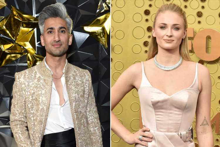 Tan France helped Sophie Turner fix a 'fashion emergency' at the 2019 Emmys