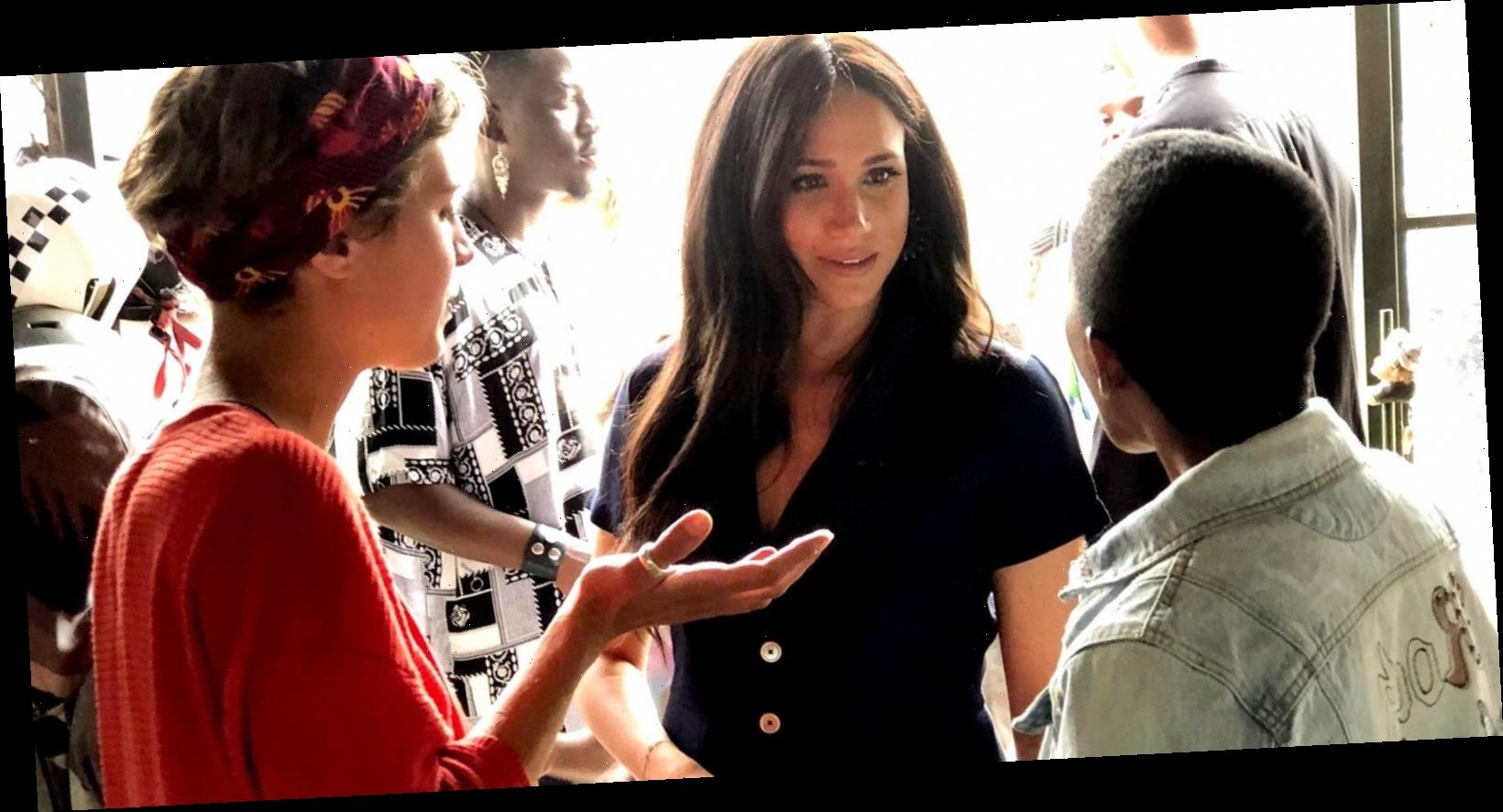 Meghan Markle Made a Surprise Visit to a Creative Community in Johannesburg
