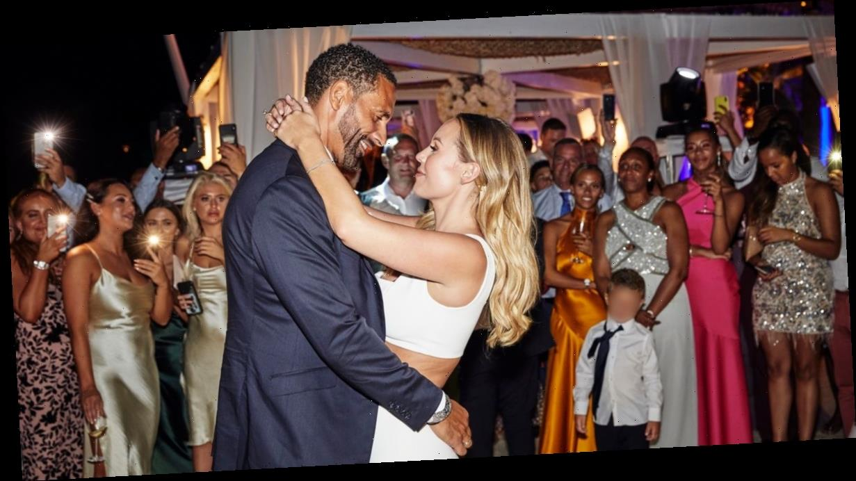Watch the special moment Ashanti performs at Rio Ferdinand and Kate Wright's wedding