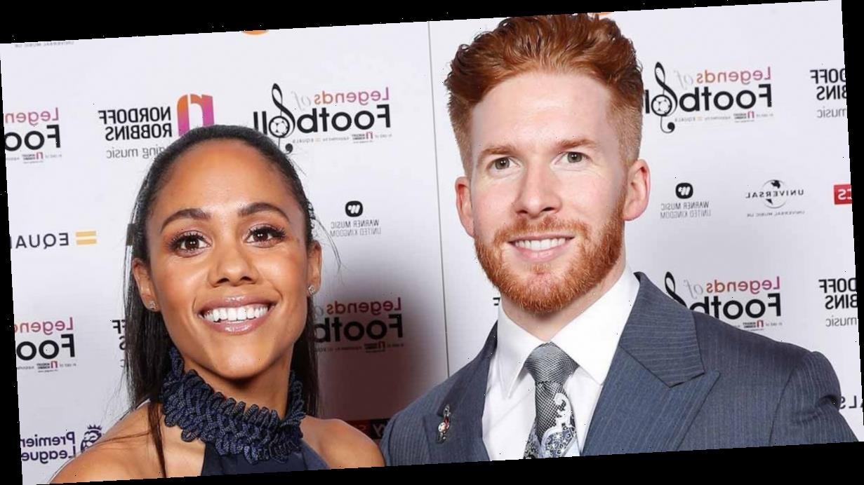Strictly's Neil Jones and Alex Scott pictured going back to hers after night out