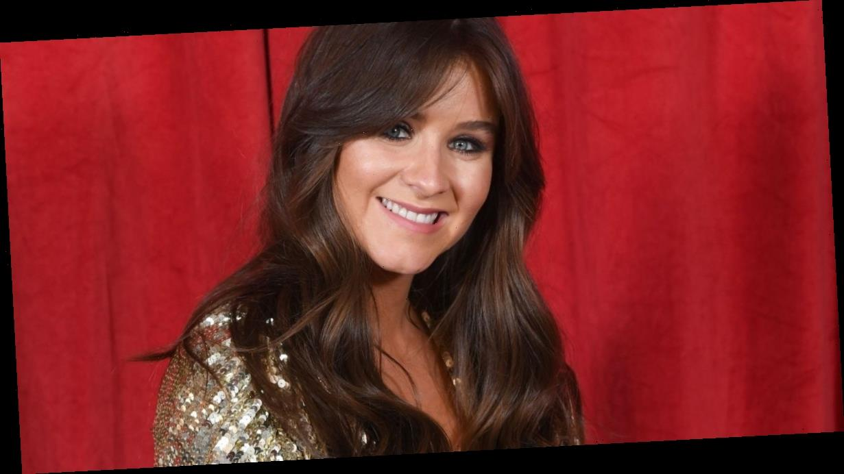 Brooke Vincent's Coronation Street co star accidentally gives away her due date