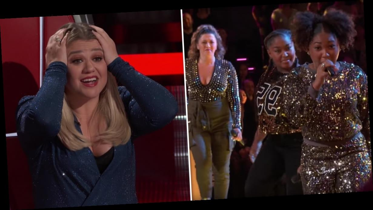 """The Voice: Of Course, This 3-Person """"Wrecking Ball"""" Battle Ended With a Steal"""