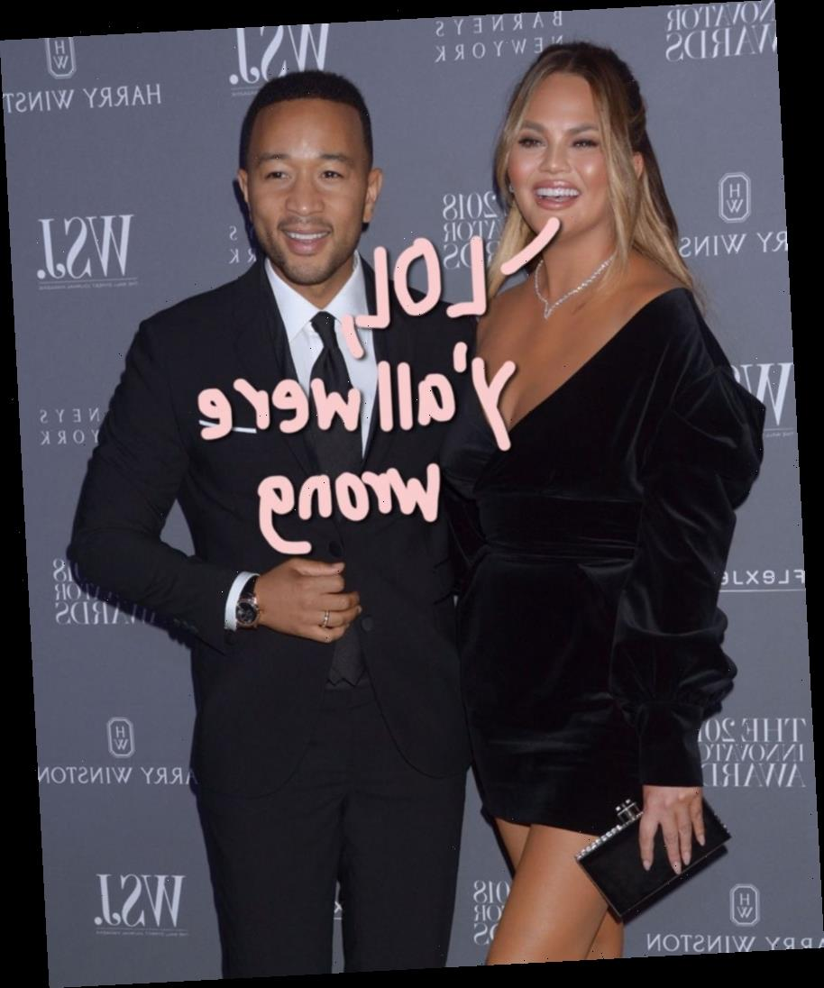Chrissy Teigen Says John Legend Was Known For Being A 'Modelizer' Or 'In The Closet' B