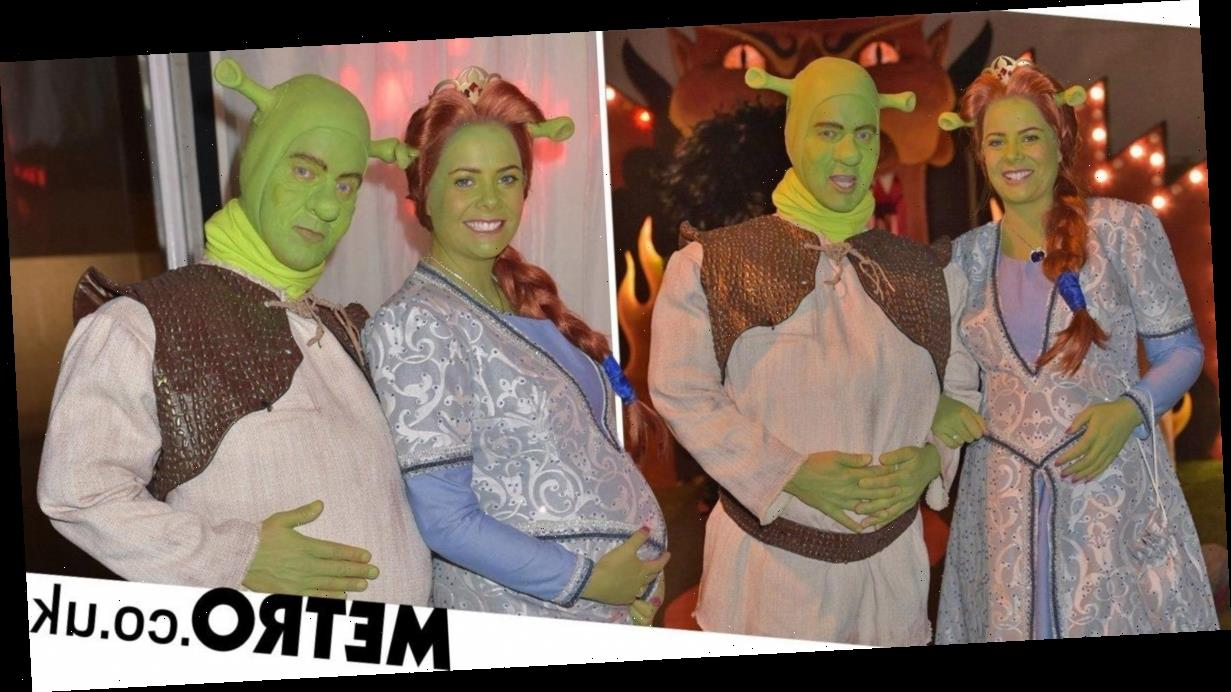Jeremy Kyle emerges as Shrek as he makes rare appearance since show axe