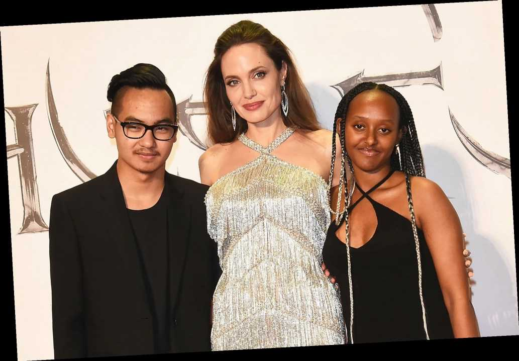 Angelina Jolie reunites with son Maddox in Tokyo
