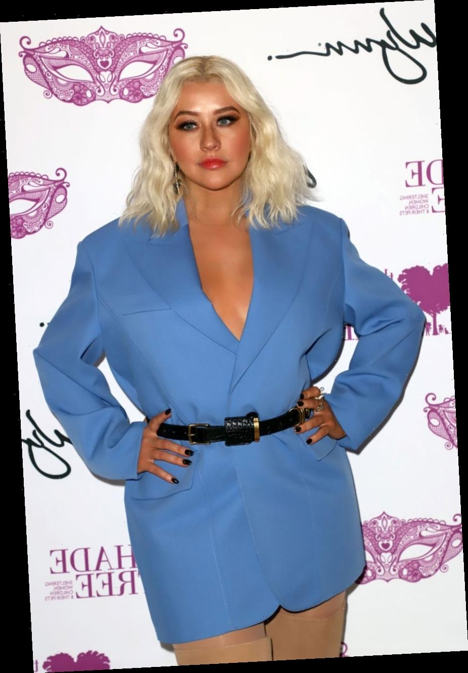Christina Aguilera Gets Emotional Speaking About Domestic Violence: 'It's Just Disgusting'