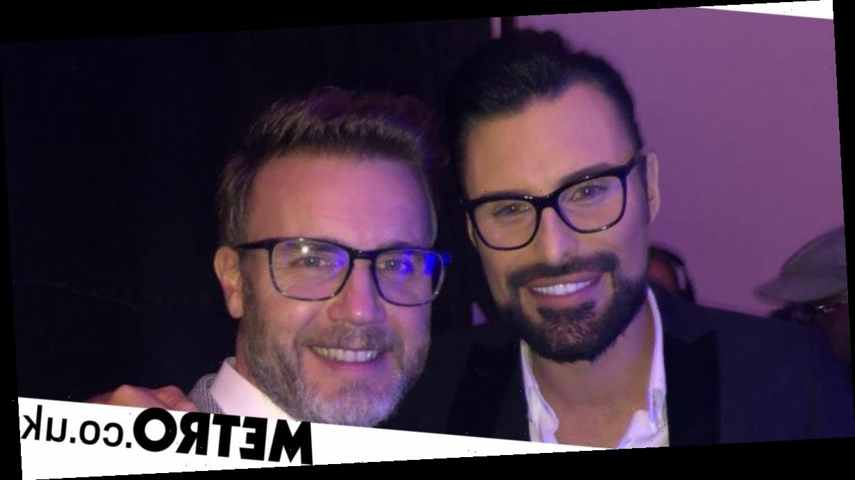 Rylan patches things up with Gary Barlow seven years on from X Factor 'feud'