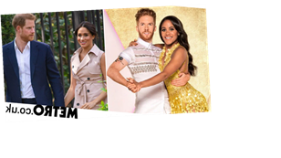 Strictly's Alex Scott and Neil Jones are loving the Meghan and Harry comparisons