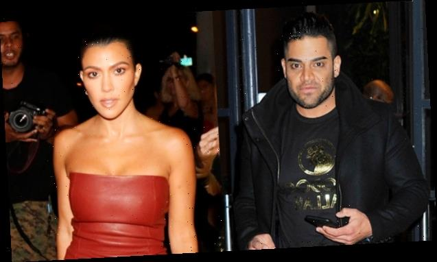 'Shahs Of Sunset's Mike Shouhed Flirts With Kourtney Kardashian On IG After She Posts Sexy New Pic
