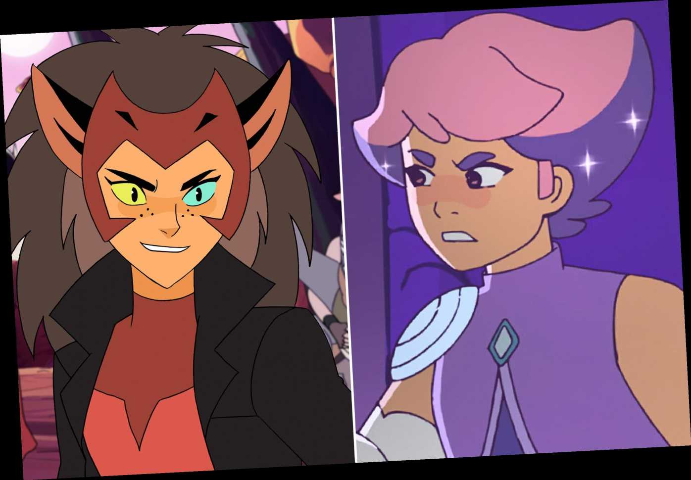 She-Ra cast tease new roles for Glimmer, Catra in season 4